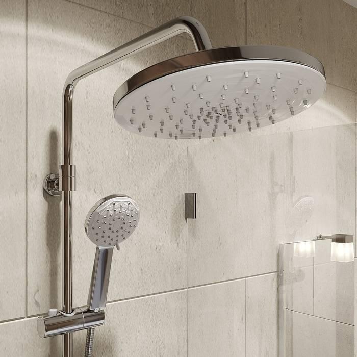 Фото Смеситель для ванны с верхним душем, IDDIS Male MALSB3Fi06 3