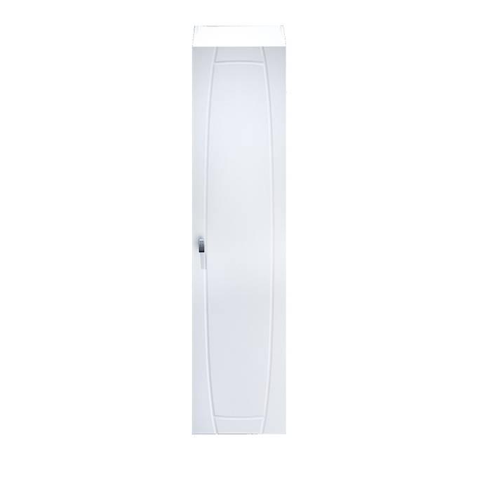 Фото Пенал для ванной комнаты, подвесной, 36 см, IDDIS Rise RIS36W0i97, белый 1