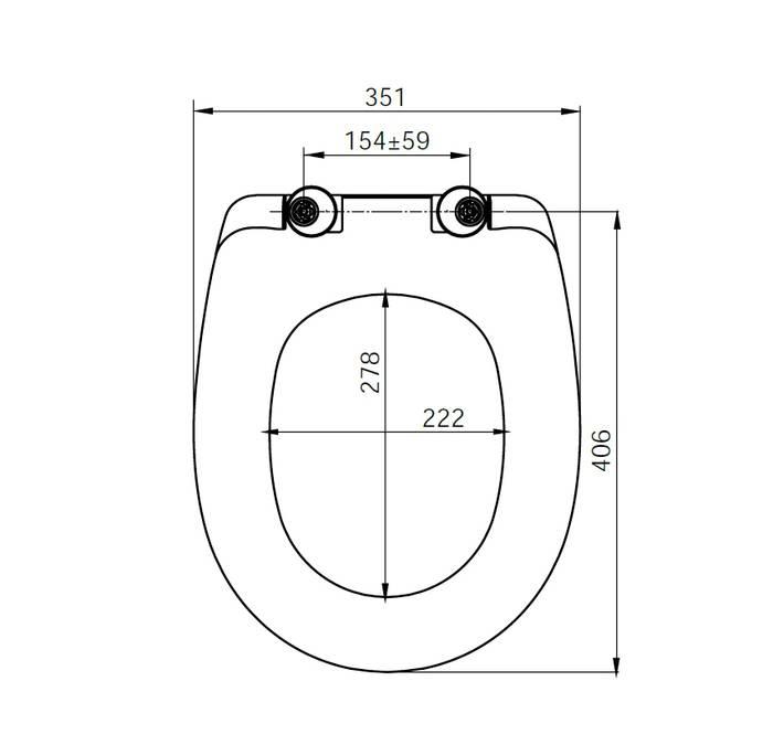 Фото Сиденье для унитаза soft дюропласт IDDIS DP Seat Cover ID 126 Dp Sc 1