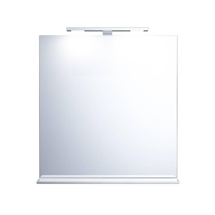 Фото Зеркало 70 см, IDDIS Custo CUS70W0i98, белое 1