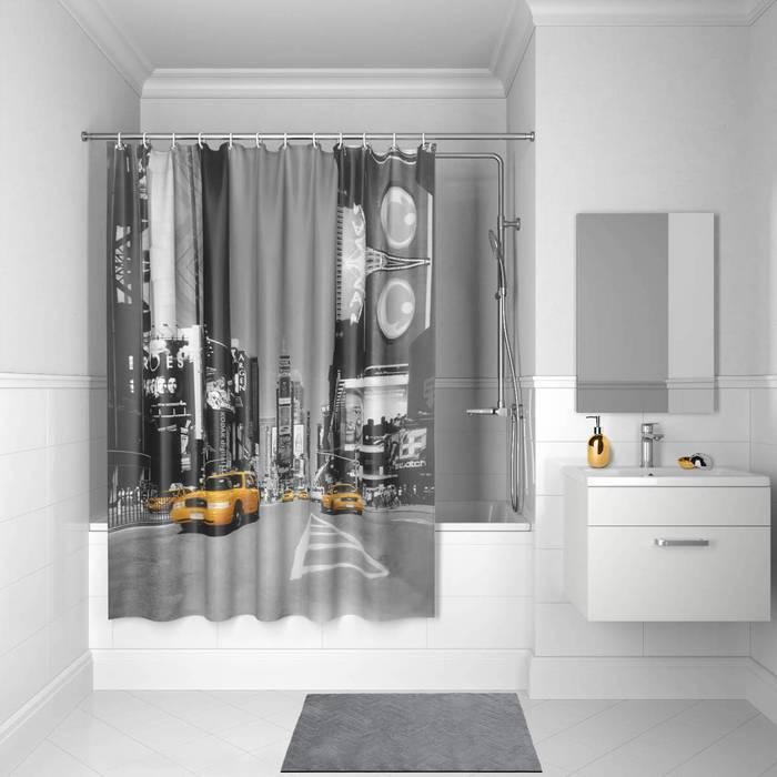 Фото Штора для ванной комнаты, 200x180 см полиэстер, IDDIS Basic B24P218i11 0