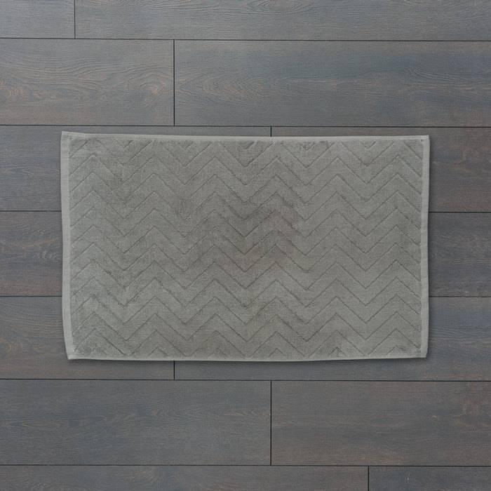 Фото Коврик для ванной комнаты, 50x80 см, хлопок, IDDIS Décor D12C580i12 1