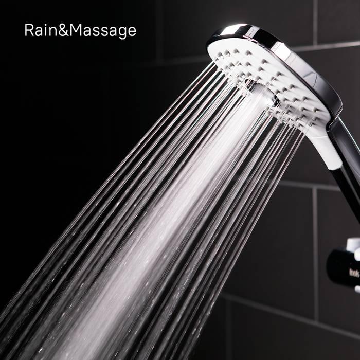 Фото Смеситель для ванны с верхним душем, IDDIS Sena SENSB3Fi06 7