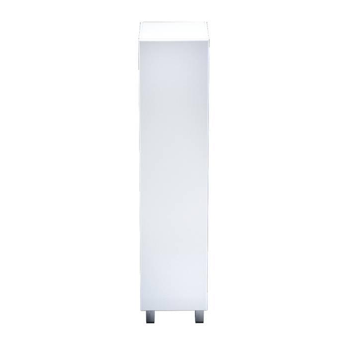 Фото Пенал для ванной комнаты, напольный, 40 см, IDDIS Harizma HAR4000i97, белый 1