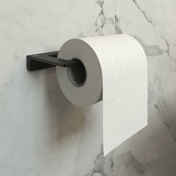 Фото Держатель для туалетной бумаги без крышки, сплав металлов, IDDIS Slide SLIBS00i43 1