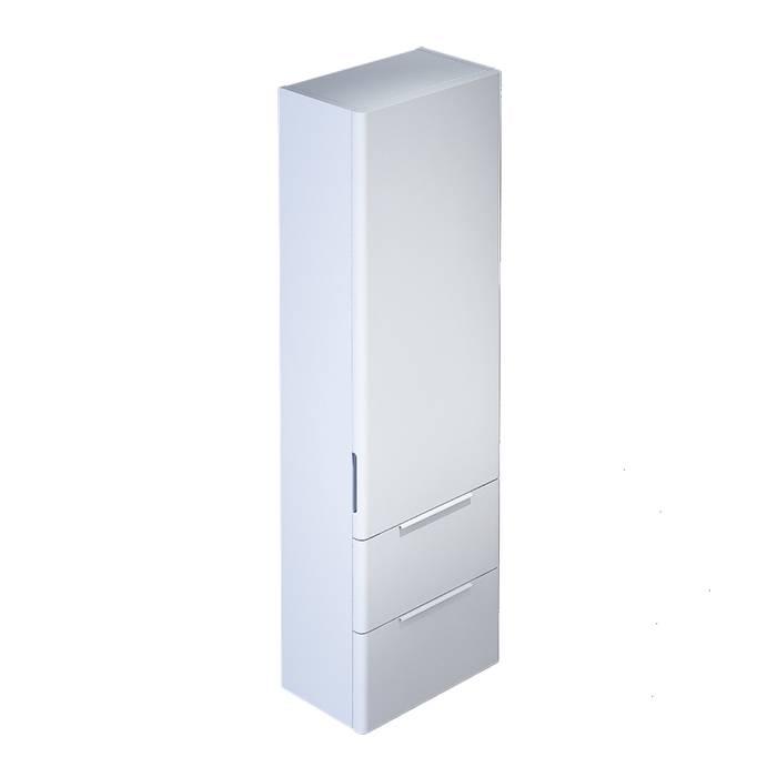 Фото Пенал для ванной комнаты, подвесной, 40 см, IDDIS Calipso CAL4000i97, белый 0