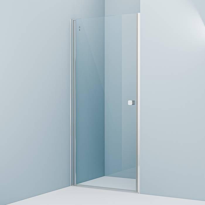 Фото Душевая дверь распашная, глянцевый алюминиевый профиль 90х195, IDDIS Ray RAY6CP9i69 0