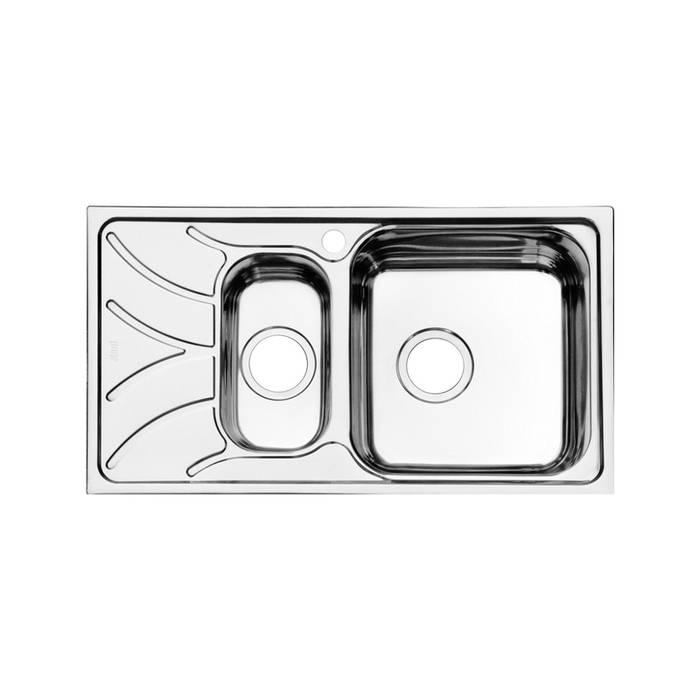 Фото Мойка нержавеющая сталь, шелк, 1 1/2, чаша справа, 780x440, IDDIS Arro ARR78SZi77 0