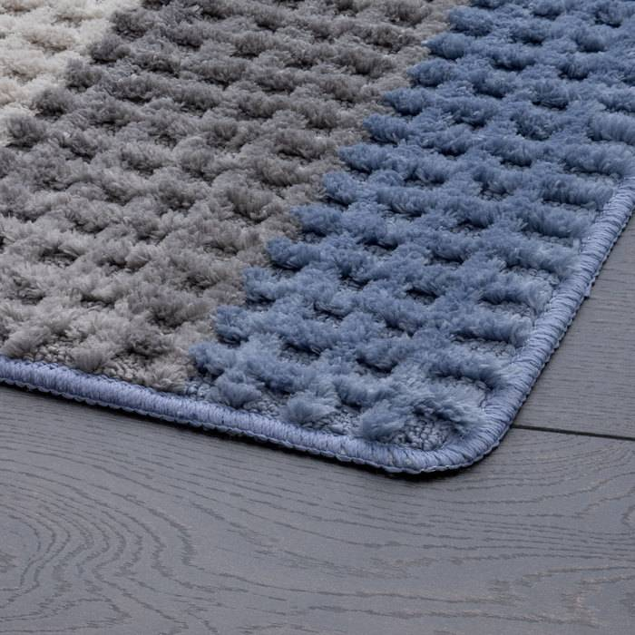 Фото Набор ковриков для ванной комнаты, 45x65 + 45x50 см, микрофибра, IDDIS Promo P36M465i12 2