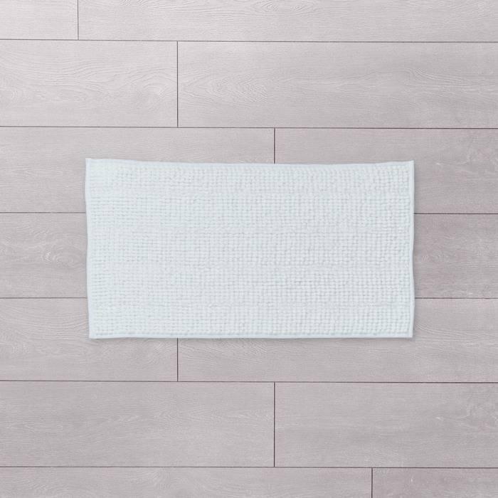 Фото Коврик для ванной комнаты, 40x70 см, шенилл и синель, IDDIS Promo P35M470i12 1