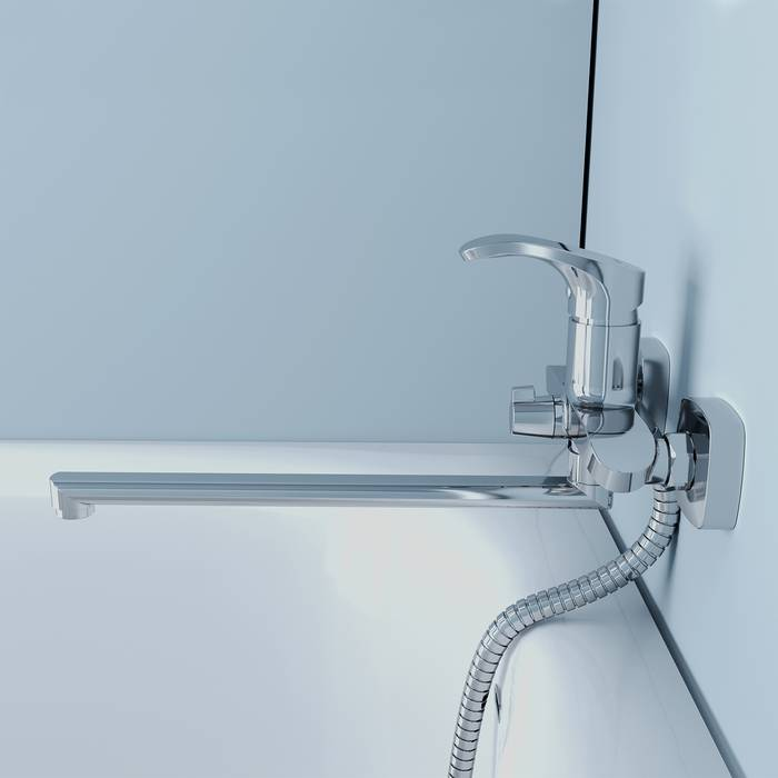 Фото Смеситель для ванны с длинным изливом, IDDIS Joker JOKSB00i10WA 2