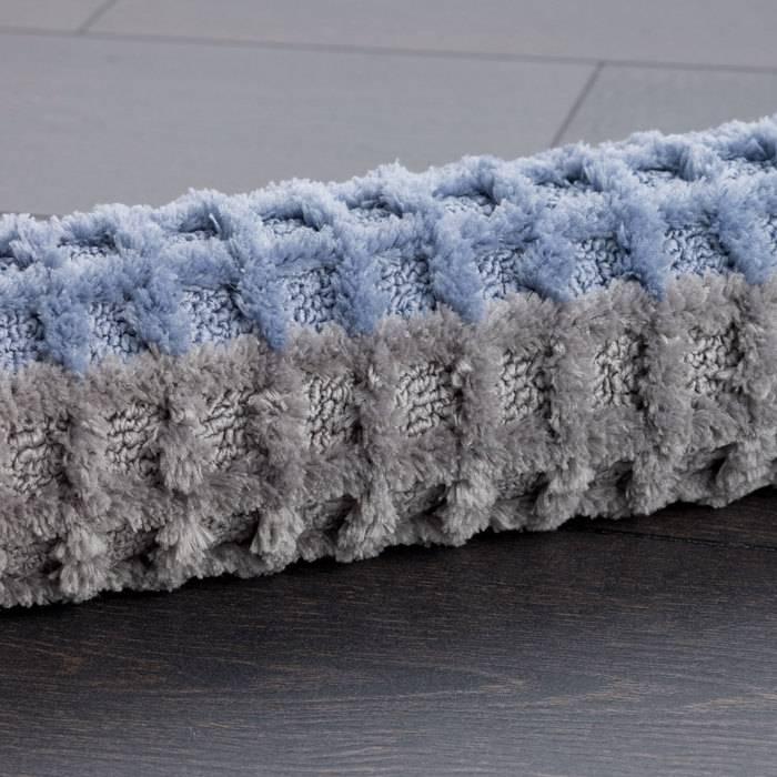Фото Набор ковриков для ванной комнаты, 45x65 + 45x50 см, микрофибра, IDDIS Promo P36M465i12 4