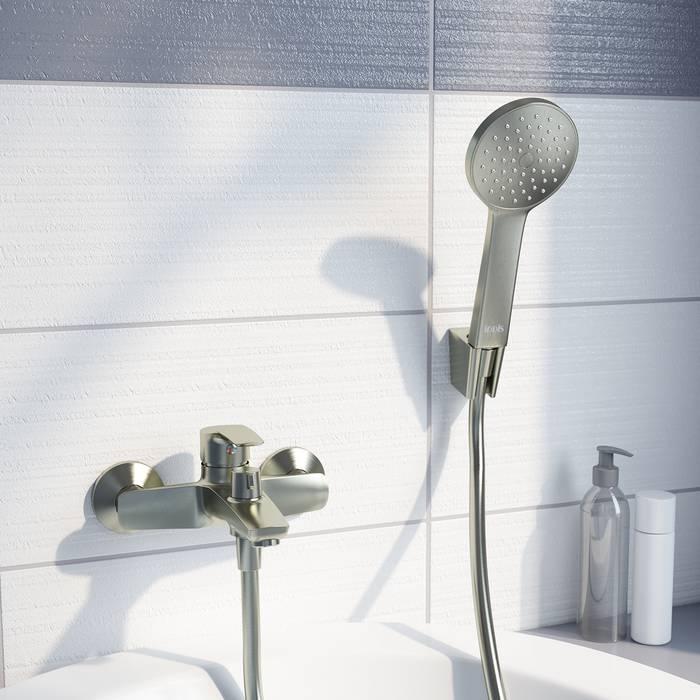 Фото Смеситель для ванны IDDIS Ray RAYBN02i02, сатин 1