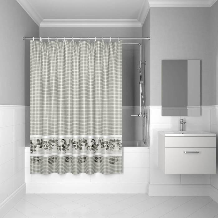 Фото Штора для ванной комнаты, 200x180 см полиэстер, IDDIS Basic B51P218i11 0