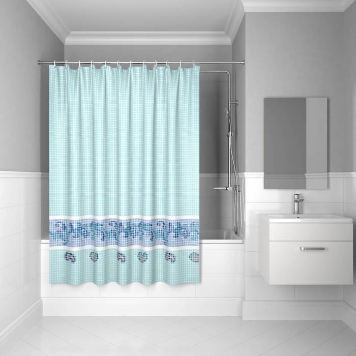 Фото Штора для ванной комнаты, 200x180 см полиэстер, IDDIS Basic B49P218i11 0