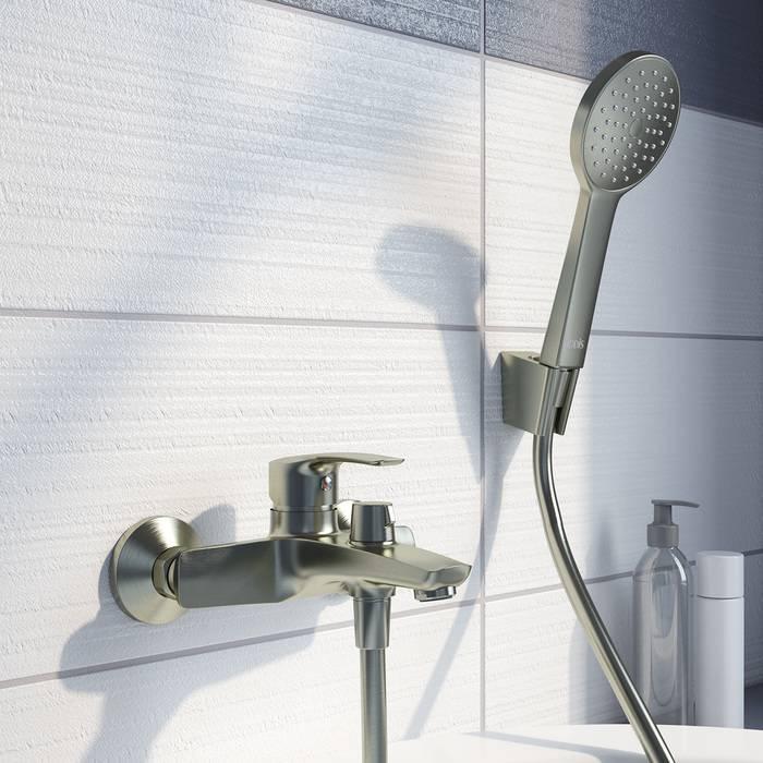 Фото Смеситель для ванны IDDIS Ray RAYBN02i02, сатин 3
