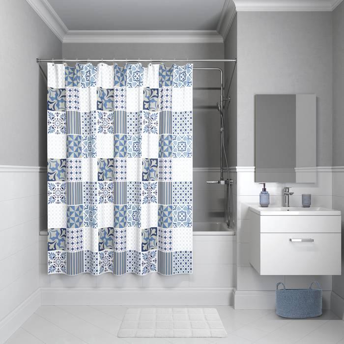 Фото Штора для ванной комнаты, 180x180 см полиэстер, IDDIS Basic B03P118i11 0