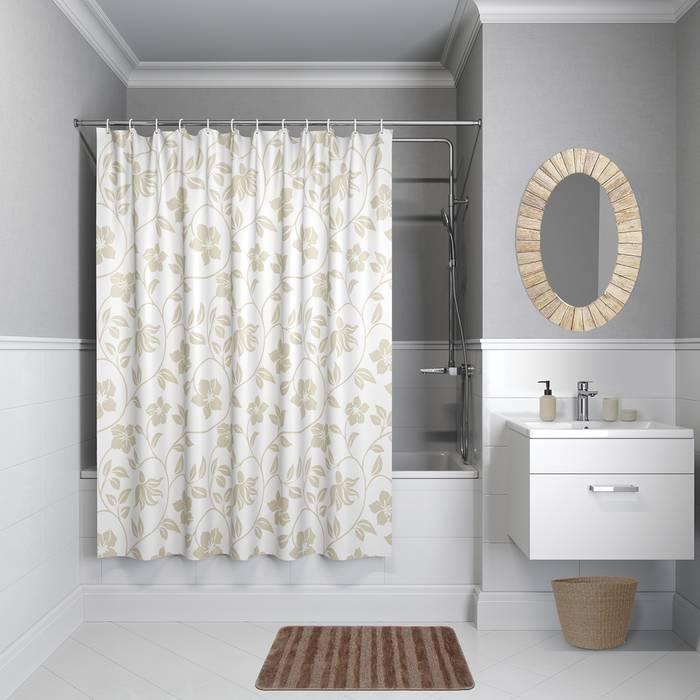 Фото Штора для ванной комнаты, 200x240 см полиэстер, IDDIS Basic B40P224i11 0