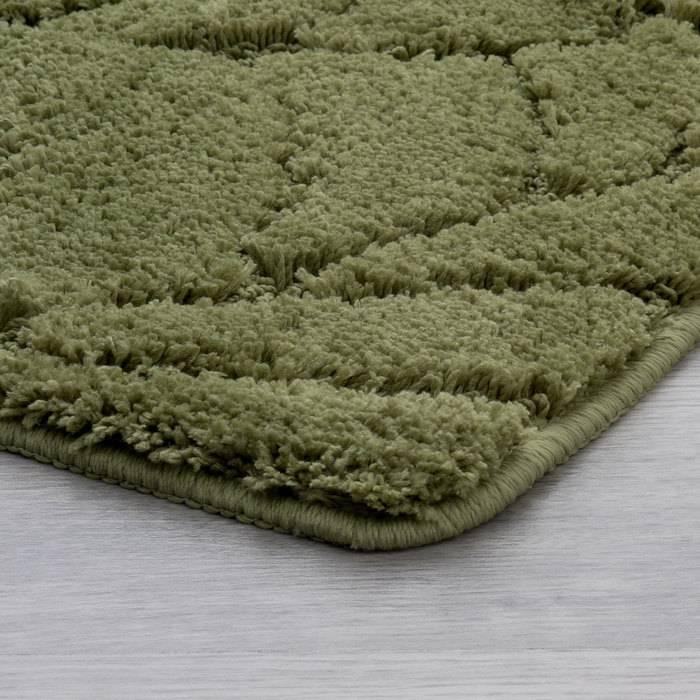 Фото Набор ковриков для ванной комнаты, 50x80 + 50x50 см, микрофибра, IDDIS Promo P45M558i13 2