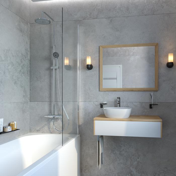 Фото Cмеситель термостатический с верхним душем, IDDIS Torr TORSBBTi06 4