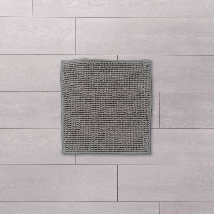 Фото Коврик для ванной комнаты, 45x45 см, шенилл, IDDIS Promo P19M445i12 1